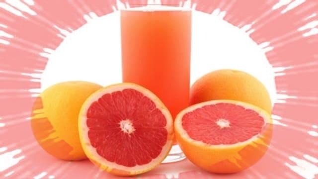 грейпфрутовый сок от пигментных пятен
